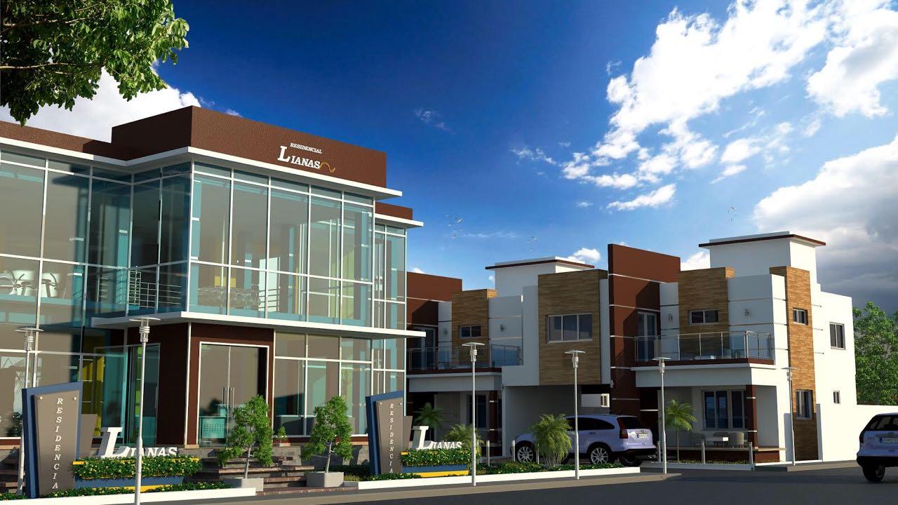 Proyecto de casas en San Isidro