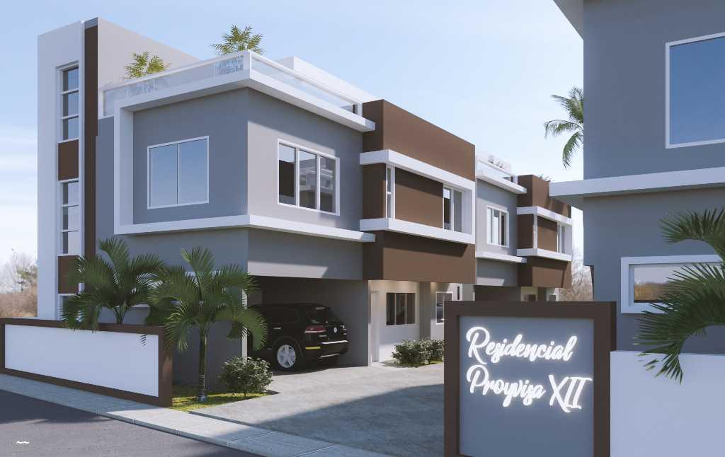 Casa en venta nueva de 2 niveles en Los Hidalgos