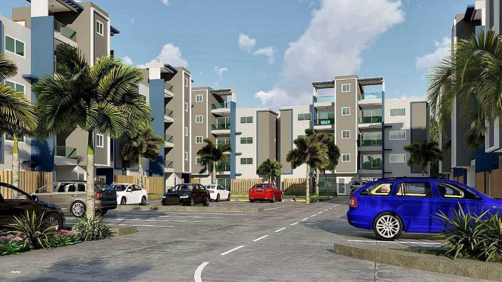 Apartamentos en Venta Las Palmas de Herrera, Santo Domingo Oeste