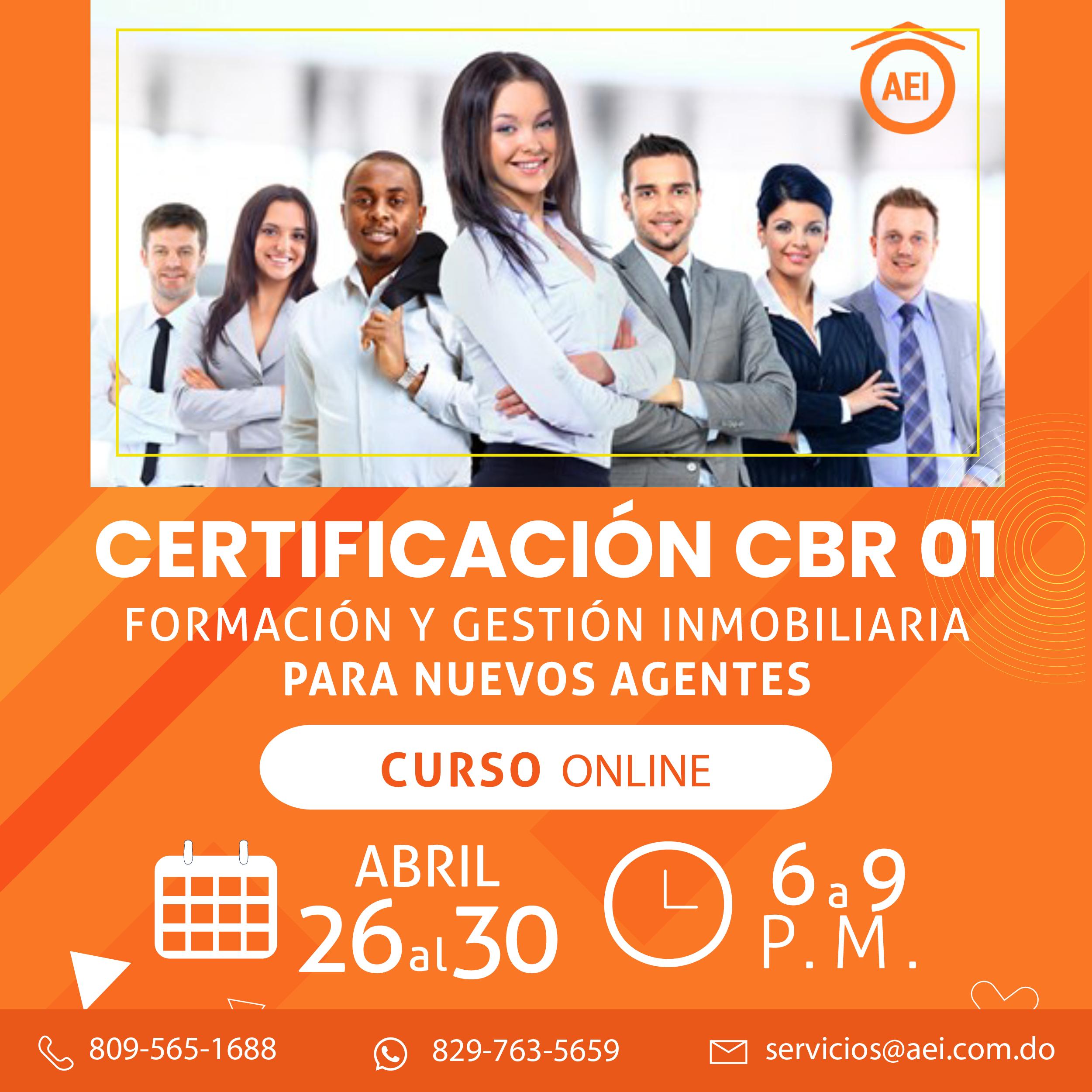 Certificación CBR 01