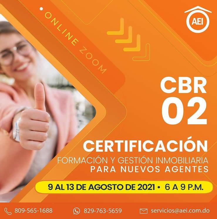 Certificación CBR 02