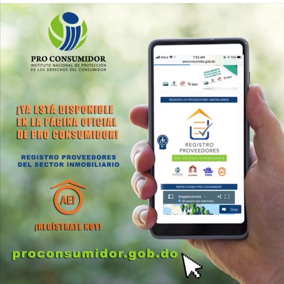 Ya está disponible en la página, el Registro de Proveedores del Sector Inmobiliario