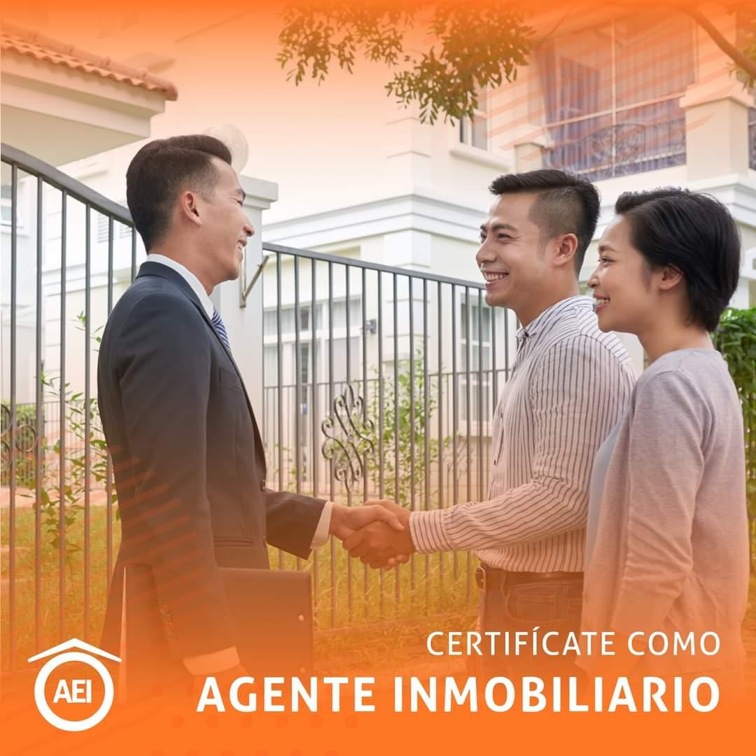 Certifícate como Agente Inmobiliario AEI